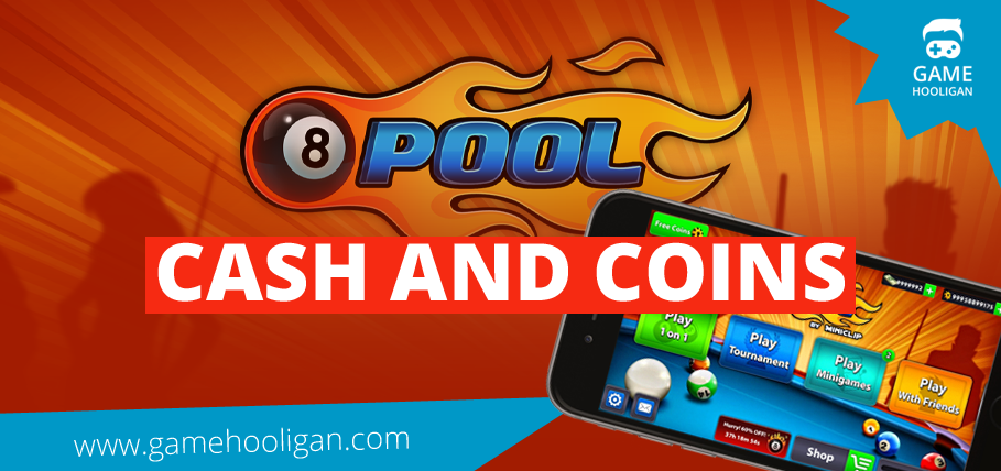 Free 8 Ball Pool Cash and Coins