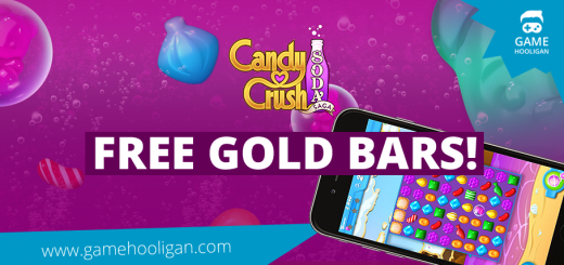 Free Candy Crush Soda Saga Gold Bars and Lives