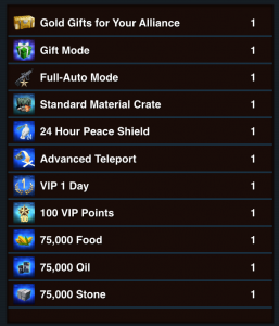 Mobile Strike Bonuses