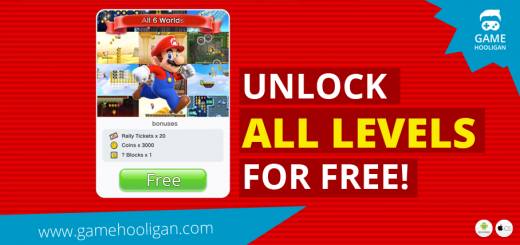 Super Mario Run Unlock All Worlds